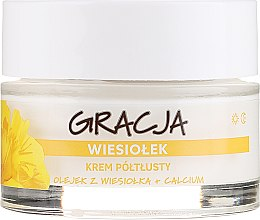 Cremă nutritivă cu ulei de primulă - Miraculum Gracja Semi-oily Cream With Evening Primrose — Imagine N2