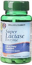 "Parfumuri și produse cosmetice Supliment alimentar ""Enzima lactază"" - Holland & Barrett Super Lactase Enzyme 125mg"