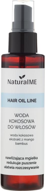 Apă de cocos pentru păr - NaturalME Hair Oil Line