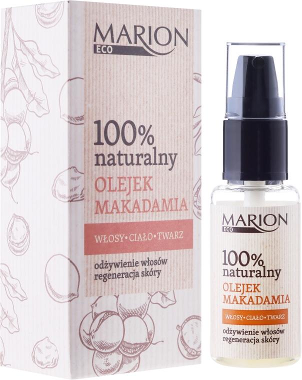 Ulei pentru păr, corp și față din nuci de macadamia - Marion Eco Oil
