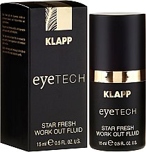 Духи, Парфюмерия, косметика Odświeżający fluid do powiek - Klapp Eyetech Star Fresh Work Out Fluid