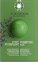 Parfumuri și produse cosmetice Mască de față - L'Occitane Purifying Mask (mostră)