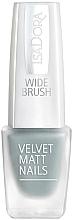 Parfumuri și produse cosmetice Лак для ногтей - Isadora Velvet Matt Nails