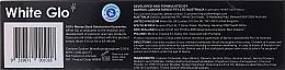 """Set """"Respirație proaspătă"""" neagră și albastră - White Glo Charcoal Bad Breath Eliminator (t/paste/100ml + t/brush/1) — Imagine N2"""