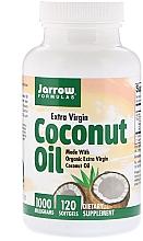 Parfumuri și produse cosmetice Ulei de cocos - Jarrow Formulas Coconut Oil Extra Virgin 1000mg