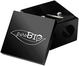 Parfumuri și produse cosmetice Ascuțitoare dublă pentru creioane - PuroBio Cosmetics Eyeliner Pencil Sharpener
