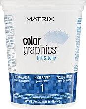 Parfumuri și produse cosmetice Pudră iluminatoare cu acțiune instantanee - Matrix Colorgraphics Lift & Tone Powder Lifter