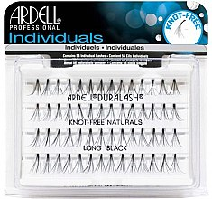 Parfumuri și produse cosmetice Extensii gene - Ardell Individuals Duralash Knot-Free Naturals Long Black