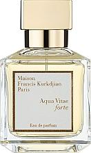 Parfumuri și produse cosmetice Maison Francis Kurkdjian Aqua Vitae Forte - Apa parfumată