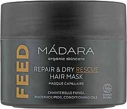 Parfumuri și produse cosmetice Mască nutritivă pentru păr - Madara Cosmetics Feed Repair & Dry Rescue Hair Mask