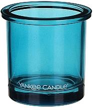 Parfumuri și produse cosmetice Sfeșnic pentru lumânări votive - Yankee Candle POP Blue Tealight Votive Holder