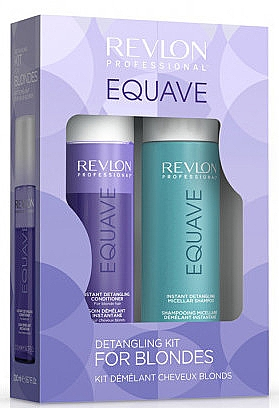 Set - Revlon Professional Equave Blonde Detangling (shm/250ml + cond/200ml) — Imagine N1