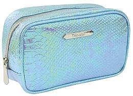 """Parfumuri și produse cosmetice Trusă cosmetică """"Blue Crocco"""" mică, 4990, albastră - Donegal"""