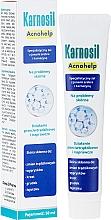 Parfumuri și produse cosmetice Gel cu ioni de argint și carnosină pentru ten problematic - Deep Pharma Karnosil Acnohelp