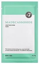 Parfumuri și produse cosmetice Mască cu extract de Centella asiatică pentru față - Dewytree Madecassoside Melting Chou Mask