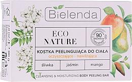Духи, Парфюмерия, косметика Peeling pentru curățarea și hidratarea pielii - Bielenda Eco Nature Cleansing & Moisturizing Body Peeling Bar