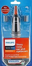 Parfumuri și produse cosmetice Trimmer pentru nas și urechi - Philips Trimmer NT3160/10