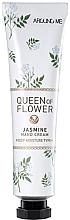 """Parfumuri și produse cosmetice Cremă de mâini """"Flori de iasomie"""" - Welcos Around Me Queen of Flower Jasmine Hand Cream"""