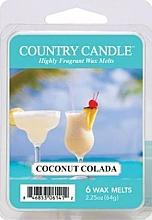 Parfumuri și produse cosmetice Ceară pentru lampă aromaterapie - Country Candle Coconut Colada Wax Melts