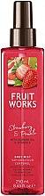 "Parfumuri și produse cosmetice Spray pentru corp ""Căpșune și pomelo"" - Grace Cole Fruit Works Body Mist Strawberry & Pomelo"