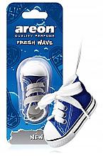 Parfumuri și produse cosmetice Aromatizator autor - Areon Fresh Wave New Car