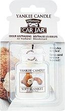Parfumuri și produse cosmetice Aromatizator pentru mașină - Yankee Candle Car Jar Ultimate Soft Blanket