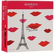 Parfumuri și produse cosmetice Set - From Paris with Love (mascara/8ml + lipstick/7.7ml)
