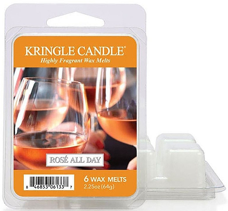 Ceară pentru lampă aromată - Kringle Candle Rose All Day Wax Melts — Imagine N1