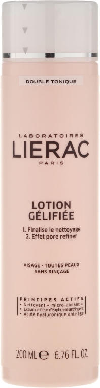 Gel-Tonic, în două faze - Lierac Double Tonique Lotion Gelifiee — Imagine N1