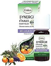 "Parfumuri și produse cosmetice Amestec de uleiuri esențiale organice ""Relaxare"" - Galeo Organic Essential Oil Synergy Relaxation"