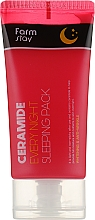 Parfumuri și produse cosmetice Mască de noapte cu ceramide - FarmStay Ceramide Every Night Sleeping Pack
