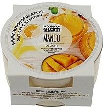 Parfumuri și produse cosmetice Lumânare parfumată - House of Glam Mango Delight Candle (mini)
