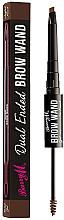 Parfumuri și produse cosmetice Creion și gel pentru sprâncene - Barry M Cosmetics Brow Wand Dual Ended