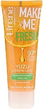 """Parfumuri și produse cosmetice Peeling facial """"Yuzu și Moringa"""" - Lirene Make Me Fresh! Peeling"""