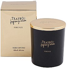 Parfumuri și produse cosmetice Lumânare aromată - Teatro Fragranze Uniche Nero Divino Scented Candle