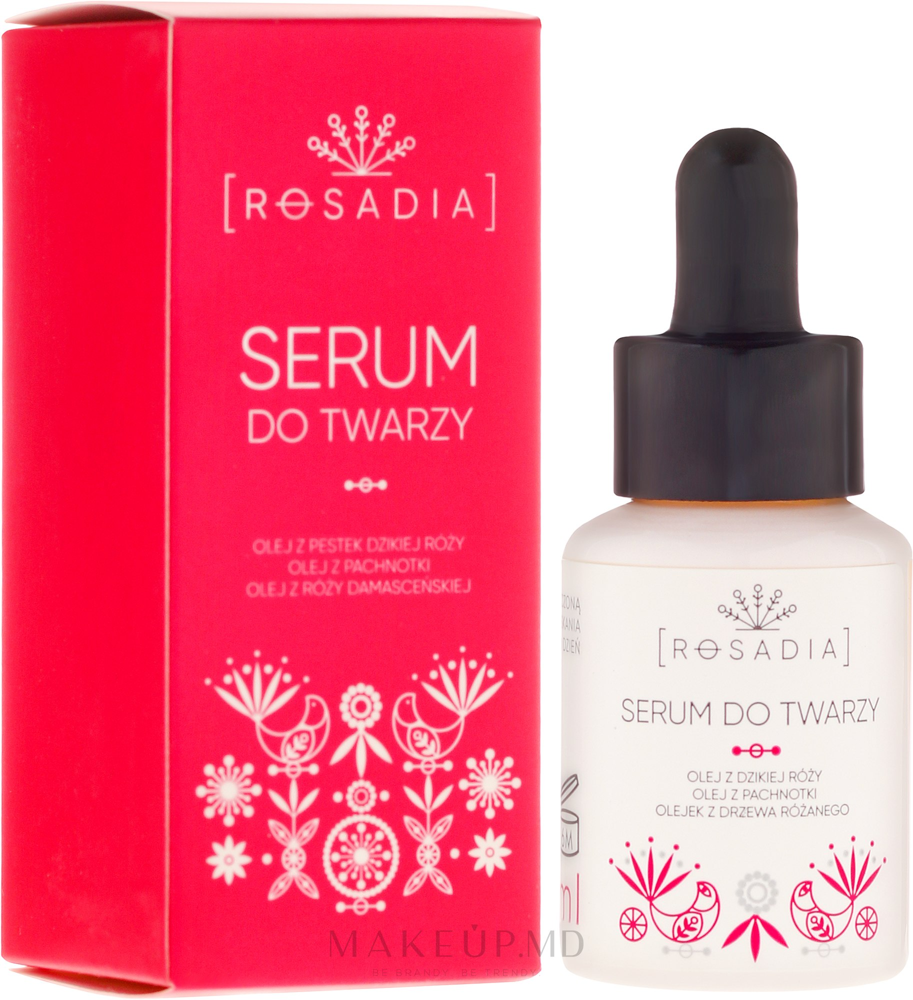 Ser pentru față - Rosadia — Imagine 30 ml