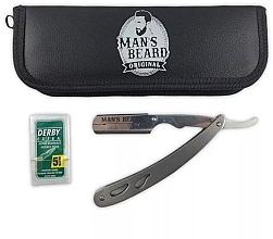 Parfumuri și produse cosmetice Set de bărbierit - Man's Beard Shavette Pro Barber