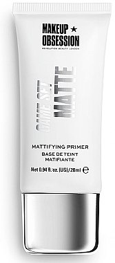 Primer pentru față - Makeup Obsession Game Set Matte Mattifing Primer