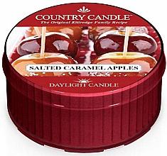 """Parfumuri și produse cosmetice Lumânare de ceai """"Salted Caramel Apple"""" - Country Candle Salted Caramel Apple Daylight"""