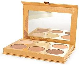 Parfumuri și produse cosmetice Paletă pentru conturarea feței - Couleur Caramel Contouring Palette