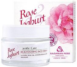 Parfumuri și produse cosmetice Cremă rejuvenantă pentru ten - Bulgarian Rose Rose & Joghurt Rejuvenating Face Cream