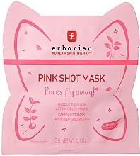 """Parfumuri și produse cosmetice Mască din țesătură pentru strângerea porilor """"PP"""" - Erborian Pink Shot Mask"""