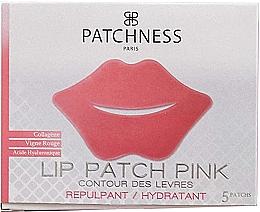 Parfumuri și produse cosmetice Patch-uri cu extract de struguri roșii pentru buze - Patchness Lip Patch Pink