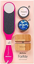 Parfumuri și produse cosmetice Set - MiaCalnea Oakis Set (h/cr/50ml + f/cr/50ml + grater + phone/stand )