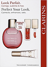 Parfumuri și produse cosmetice Set - Clarins Fix Make Up Set (lip/oil/7ml + f/spray/50ml + primer/10ml)