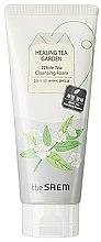 Parfumuri și produse cosmetice Gel de curățare pentru față - The Saem Healing Tea Garden White Tea Cleansing Foam