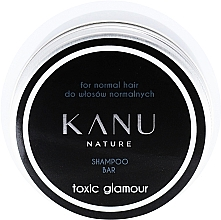 Parfumuri și produse cosmetice Șampon solid pentru păr normal, cutie metalică - Kanu Nature Shampoo Bar Toxic Glamour For Normal Hair