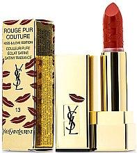 """Parfumuri și produse cosmetice Ruj de buze """"Kiss & Love"""" - Yves Saint Laurent Rouge Pur Couture Kiss & Love Edition"""