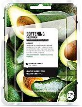 """Parfumuri și produse cosmetice Mască de țesut pentru față """"Avocado"""" - Superfood For Skin Softening Sheet Mask"""
