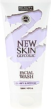 Gel de spălare - Beauty Formulas New Skin Glycolic Facial Wash — Imagine N1